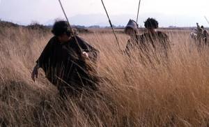 Groupe de chasseurs nomades