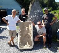La sépulture de zayukovoko remise à l'Espace préhistoire de Labastide